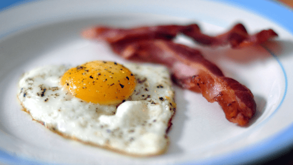 What Is The Best Keto Protein Powder - Bacon and eggs