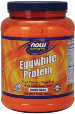What Is The Best Egg White Protein Powder - Now sports eggwhite protein