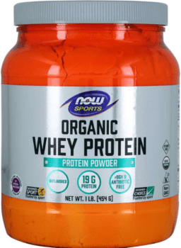 what is the best organic protein powder - Now sports organic whey protein powder