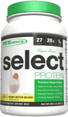 What Is The Best Pea Protein Powder - PEScience vegan series premier protein