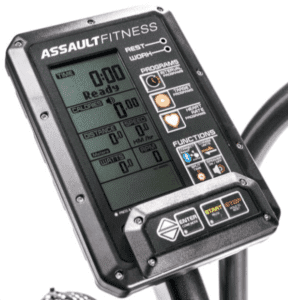 best stationary bike reviews - Assault airbike elite display console