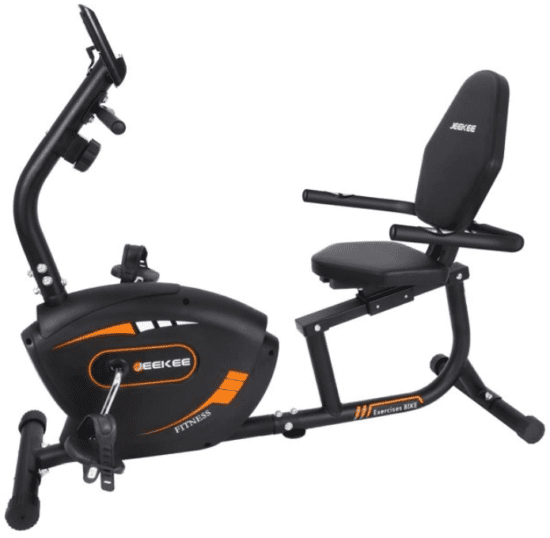 Stationary Exercise Bikes For Seniors - Jeekee recumbent exercise bike for adult seniors
