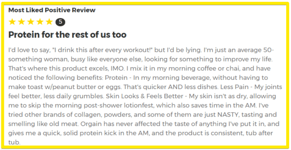Orgain Collagen Peptides Review - Orgain Collagen Peptides Grass Fed Customer Reviews