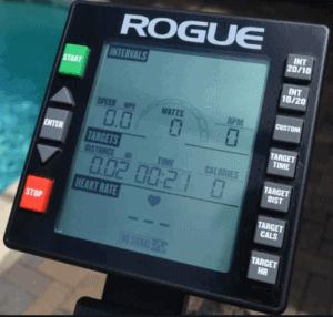 What Is The Best Air Bike - Rogue echo bike console