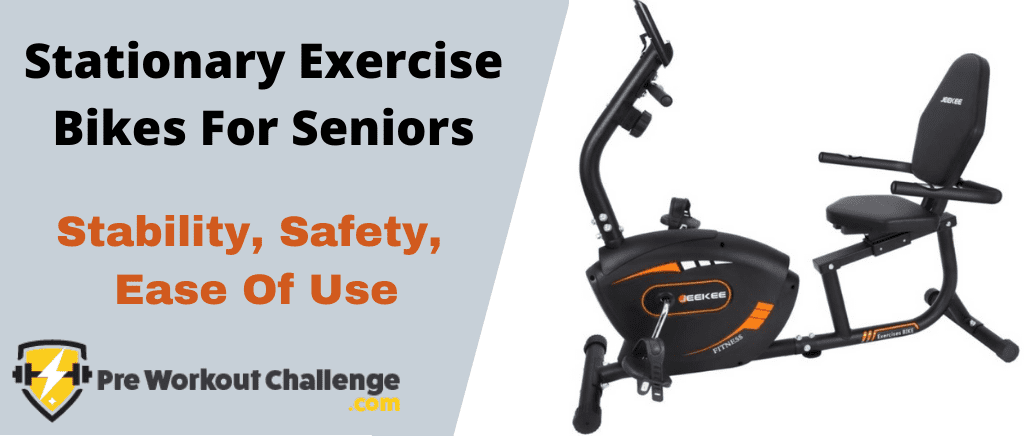 Stationary Exercise Bikes For Seniors