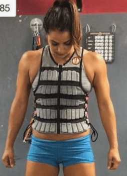 MiR Weight Vests - woman with weight vest
