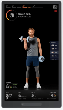 The Best Interactive Home Gym - Tempo live class