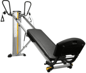 There are different resistance levels to keep your workouts challenging. - Total Gym GTS