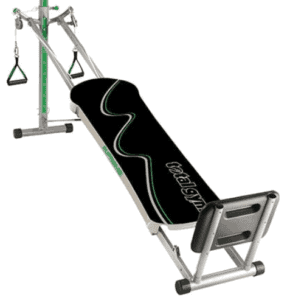 There are different resistance levels to keep your workouts challenging. - Total Gym Supreme