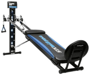 There are different resistance levels to keep your workouts challenging. - Total Gym XLS