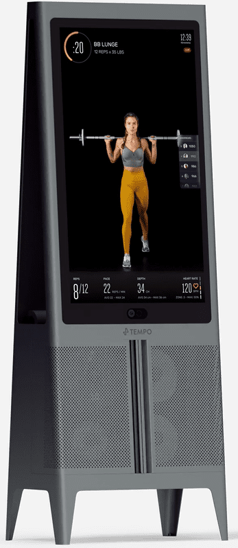 What To Buy For The Home Gym - Tempo Studio black