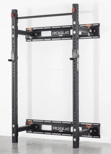 Rogue Folding Squat Rack Review - Rogue fold back wall mount rack