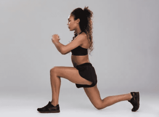 Best Exercises for Stronger Legs - woman doing lunges