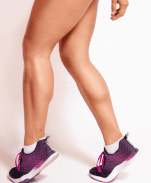 Best Exercises for Stronger Legs- woman with muscular calves