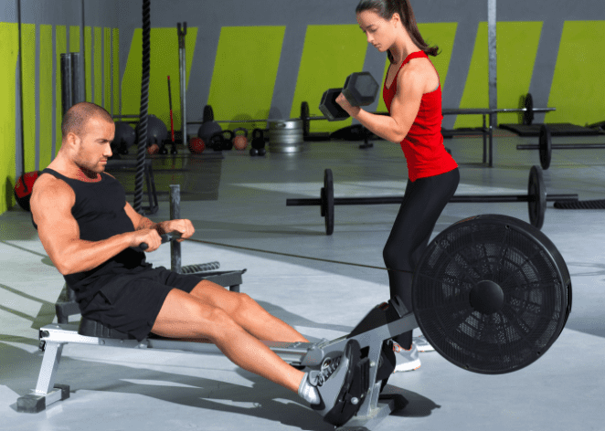 Rowing Machine Workouts for Weight Loss - Crossfit with rowing machine