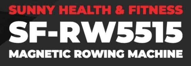 Sunny Health Fitness Rower Review - Sunny health magnetic resistance rower sign