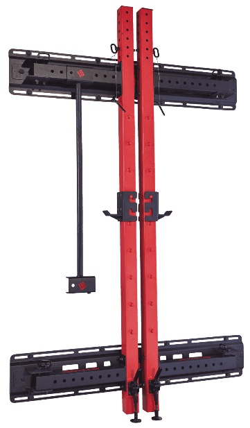 Ethos squat rack folded