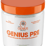 Genius pre workout container