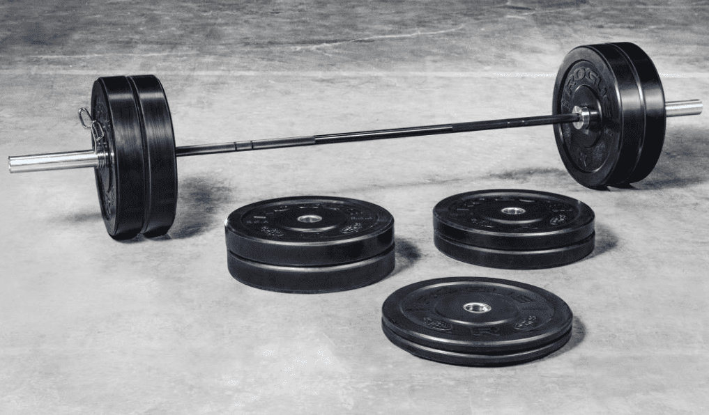 What To Buy For The Home Gym - Rogue barbell and plate sets