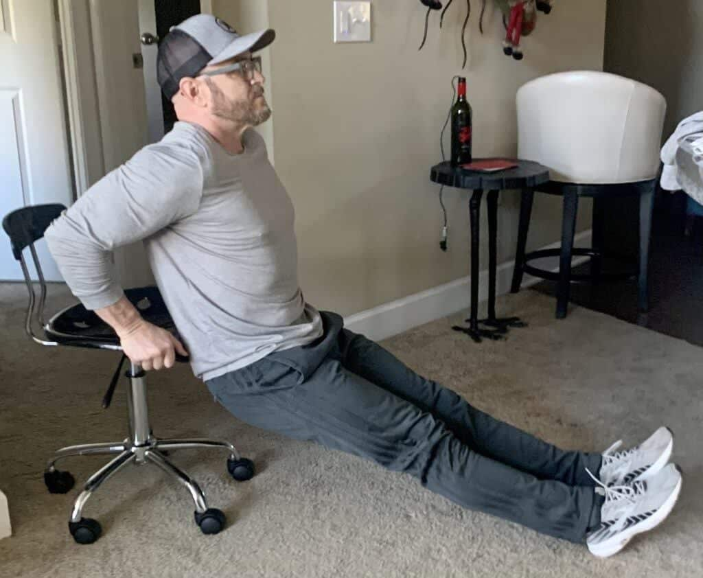 Best Body Weight Workout Routines at Home - bodyweight dips