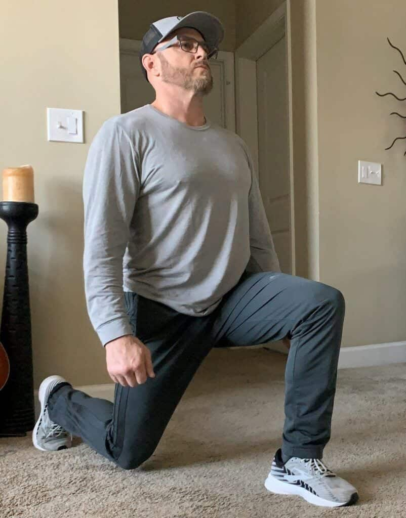Best Body Weight Workout Routines at Home - bodyweight lunges