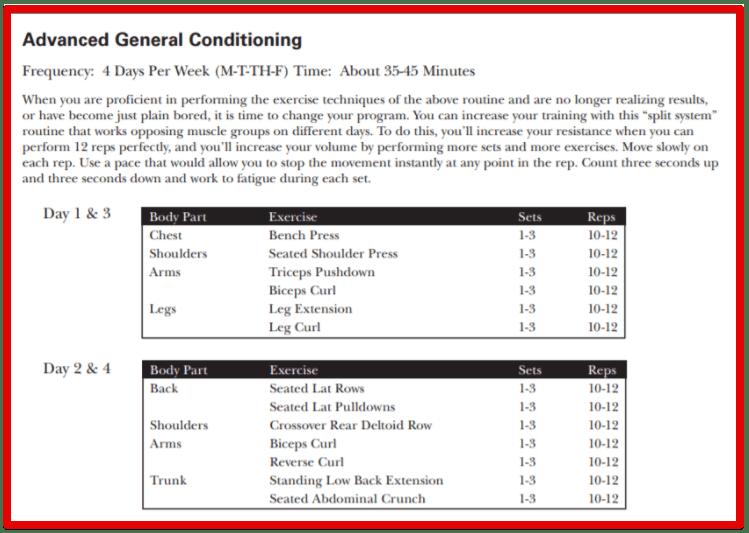 Bowflex Xtreme 2 SE Home Gym Review - Bowflex advanced general conditioning - monosnap