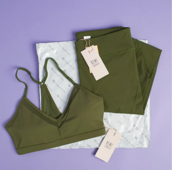 The Best Subscription Box - Fabletics Box contents