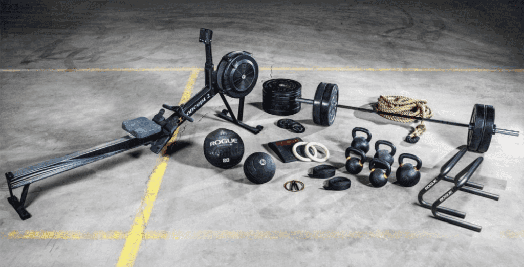 Best Weight Training Equipment for the Home - Rogue Warrior Crossfit package
