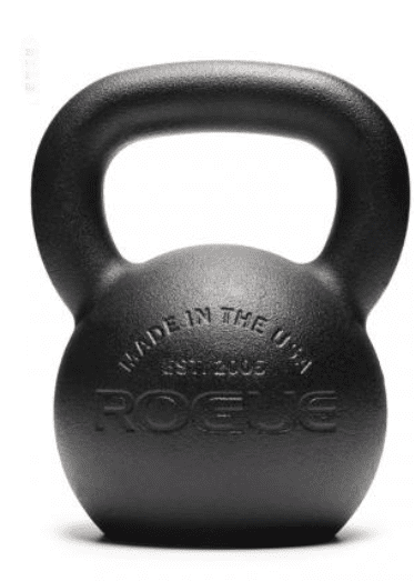 Best Weight Training Equipment for the Home - Rogue powder coat kettlebell