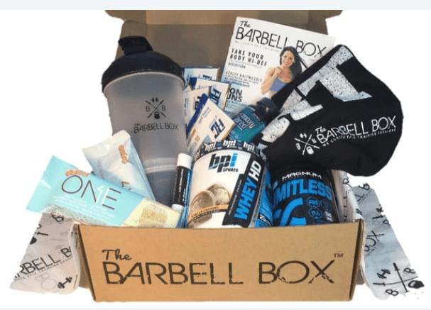 Best Fitness Subscription Boxes - The Barbell Box contents