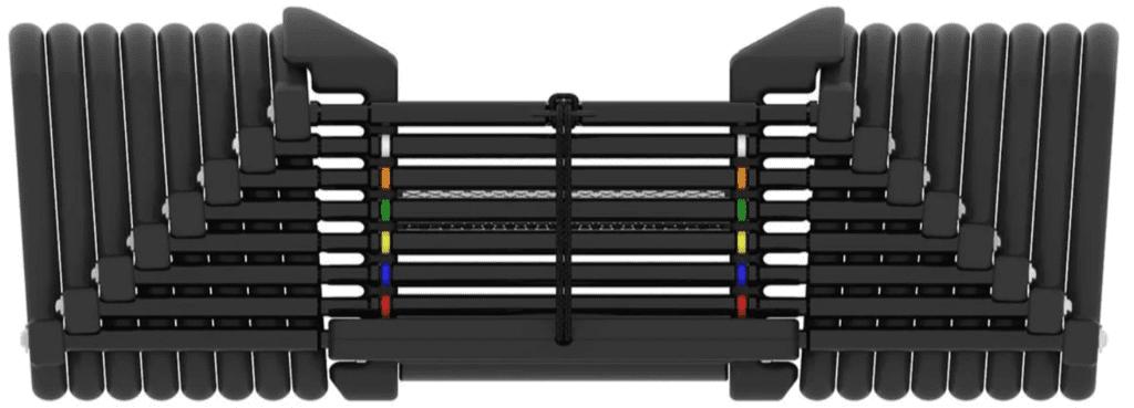 Bowflex SelectTech Reviews - Powerblock dumbbell side view