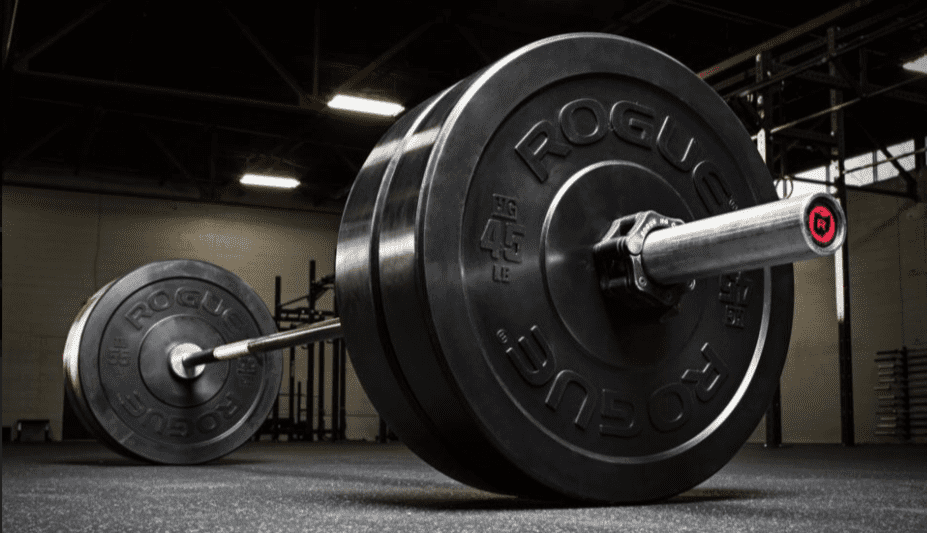 CrossFit Workout Routines - Rogue Crossfit Alpha Package Review - Rogue Fitness Bumper Plates
