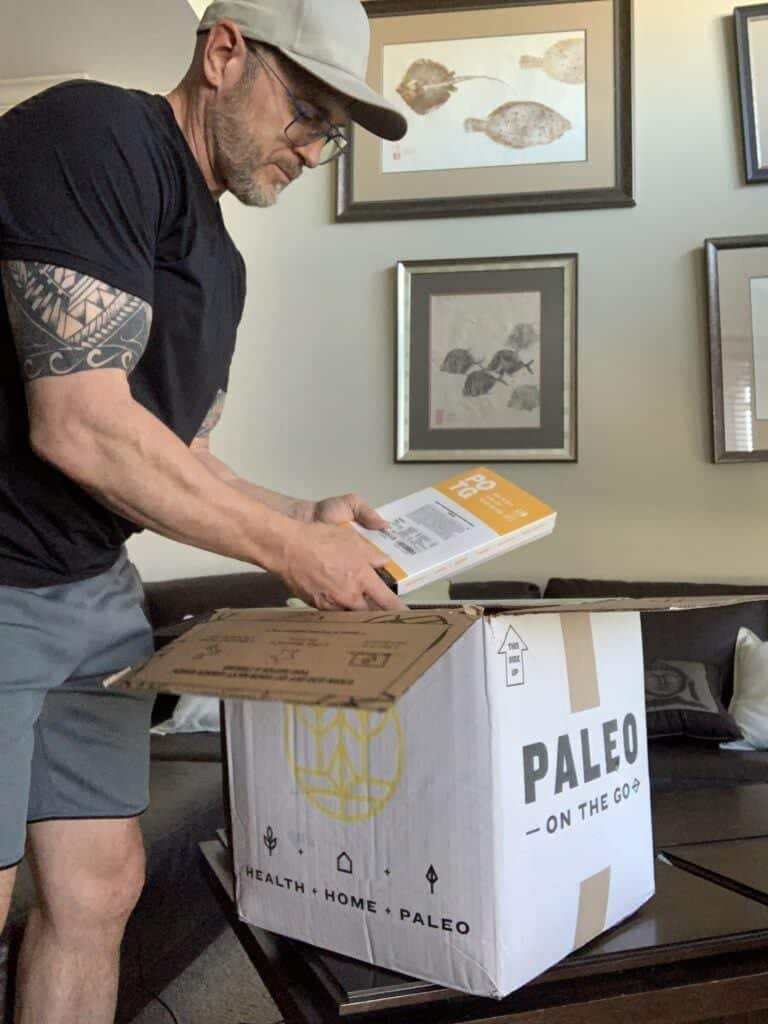 Paleo on the go review-me opening paleo box