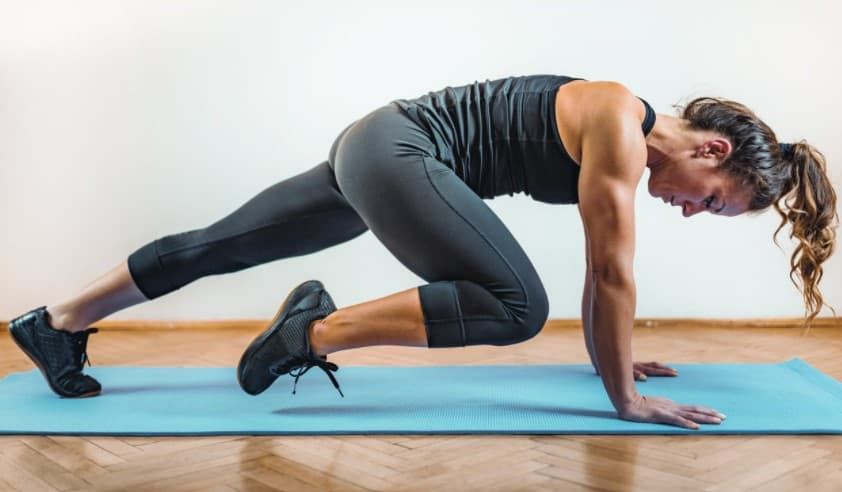 what is a hiit workout - womans HIIT workout