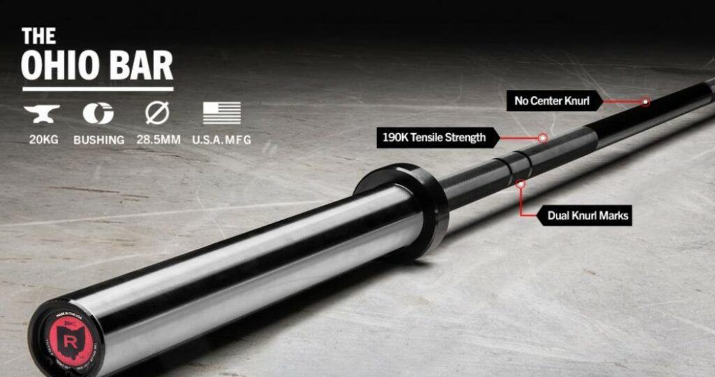 Best workout accessories - Rogue Fitness Ohio bar